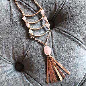 Anthropologie Angelique Ladder necklace